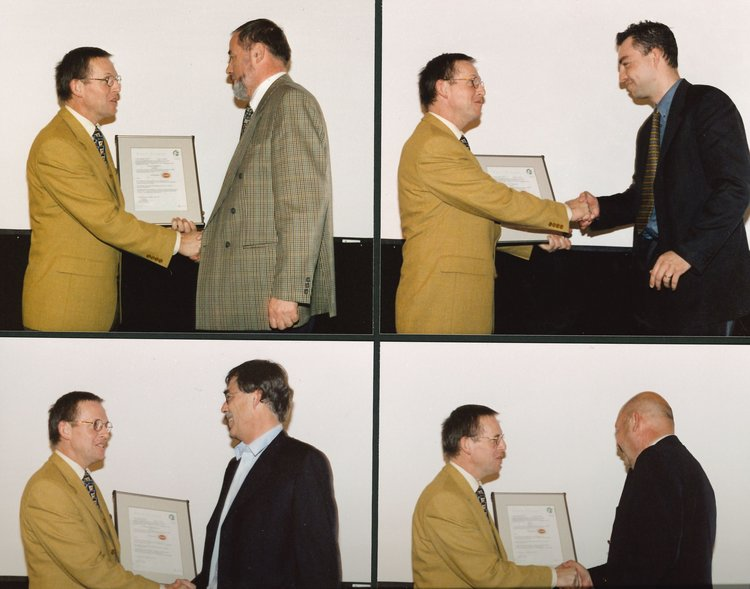 20 april 2000 uitreiking certificaten RHP keurmerk
