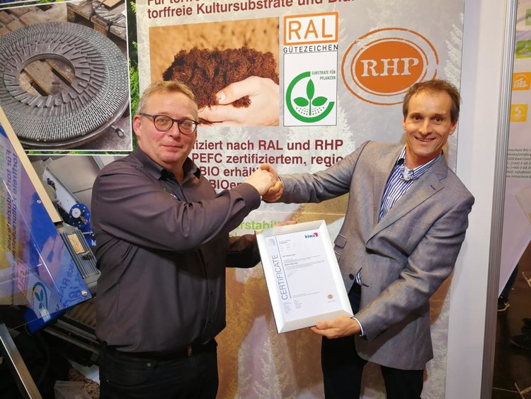 RHP certified wood fibre Eifel-Holz
