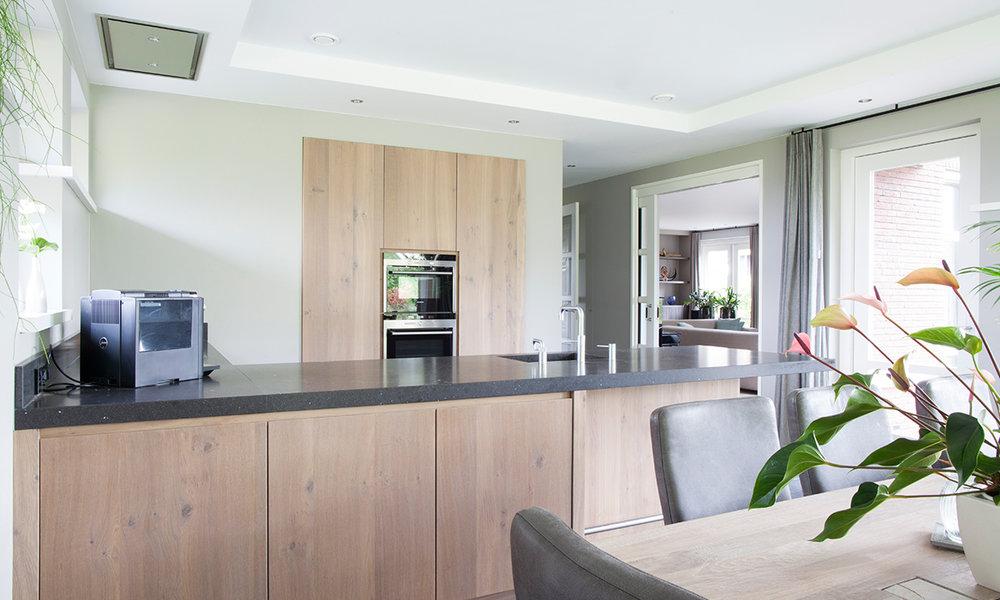 Kastenwand Keuken Moderne : Keuken wood creations