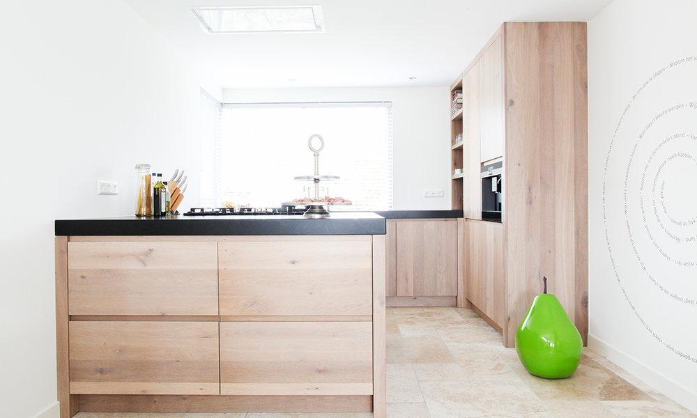 Keuken Houten Schiereiland : Keuken met schiereiland lw u blessingbox