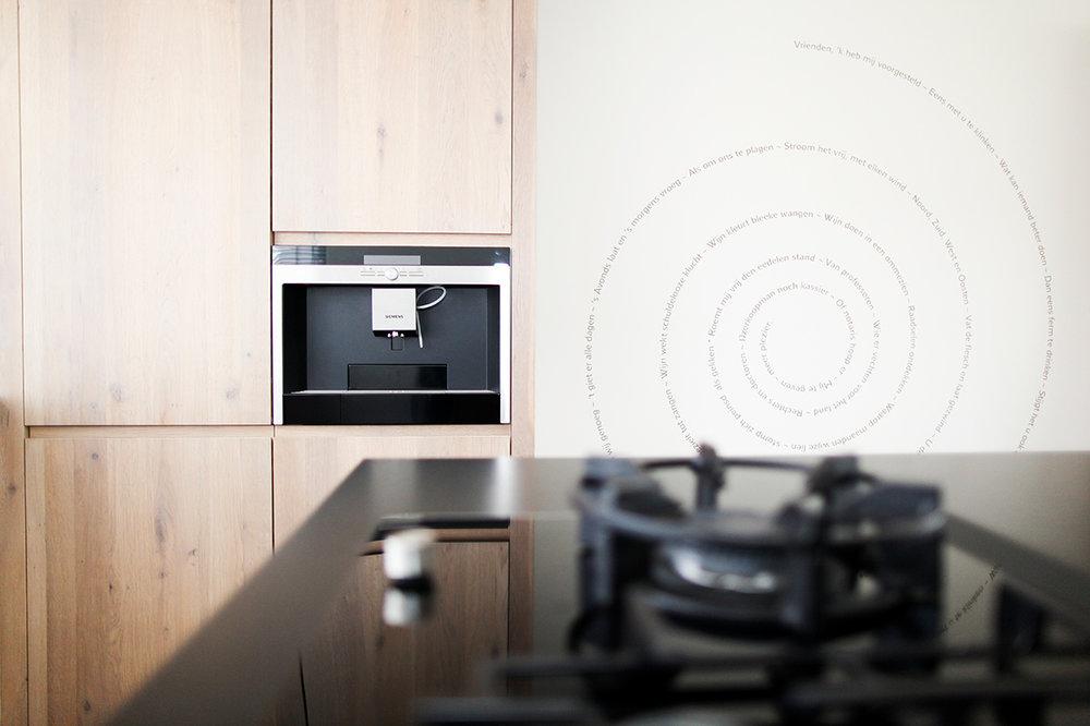 Klein Schiereiland Keuken : Kleine keukens wooning