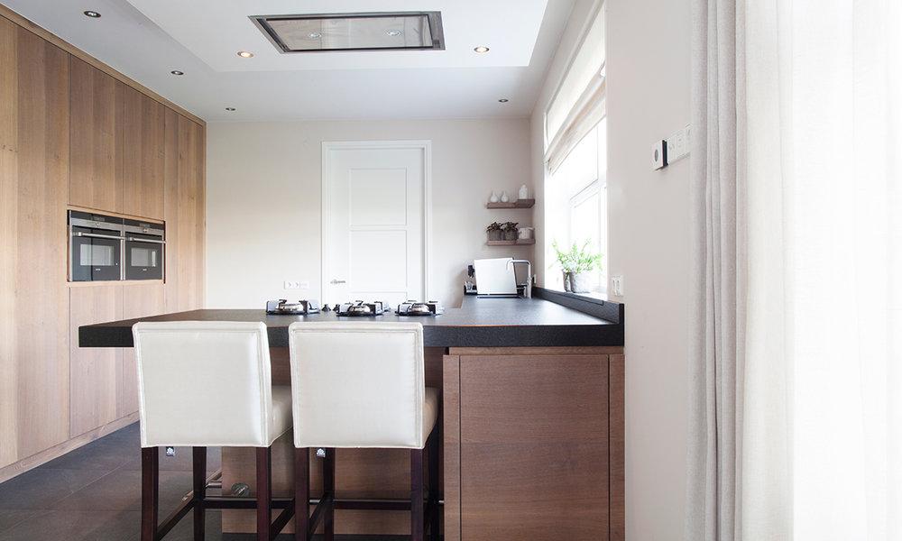 Keuken Schiereiland Met : Voorbeelden van een keuken met kookeiland