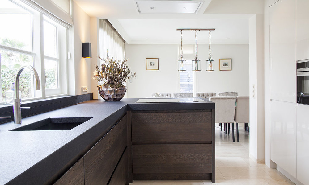 Laminaat voor badkamer elegant zwarte vloer gallery witte keuken