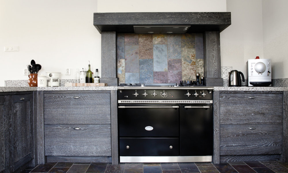 Moderne Warme Keuken : Keuken wood creations