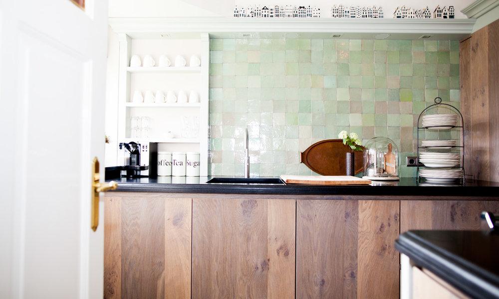 Bedwelming Groene Keuken. Bekend Keuken Wood Creations Km With Groene Keuken #CG16