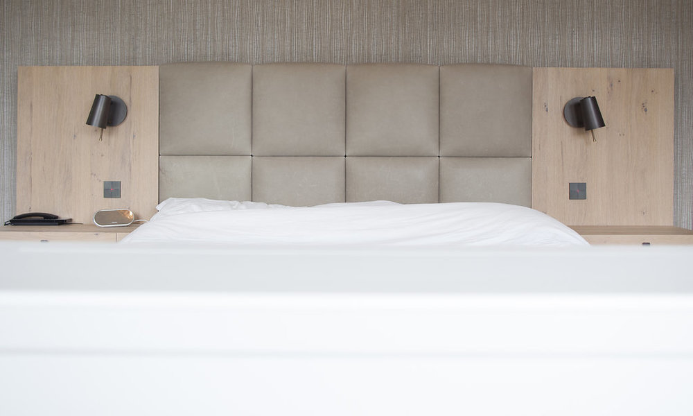 Bedden wood creations for Slaapkamer landelijk modern
