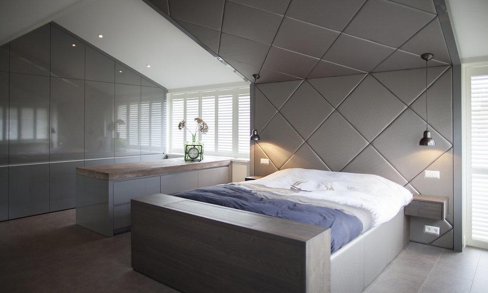 Slaapkamer Landelijk Boxspring : Slaapkamer wood creations