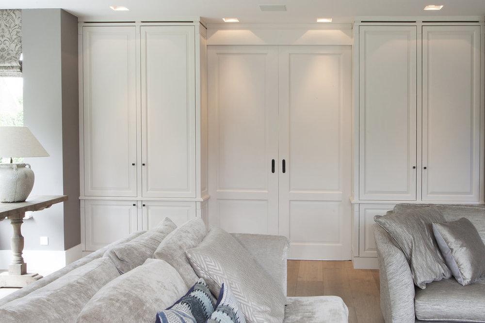Huis Donker Hout : Kantoor aan huis klassiek in donker hout wood creations