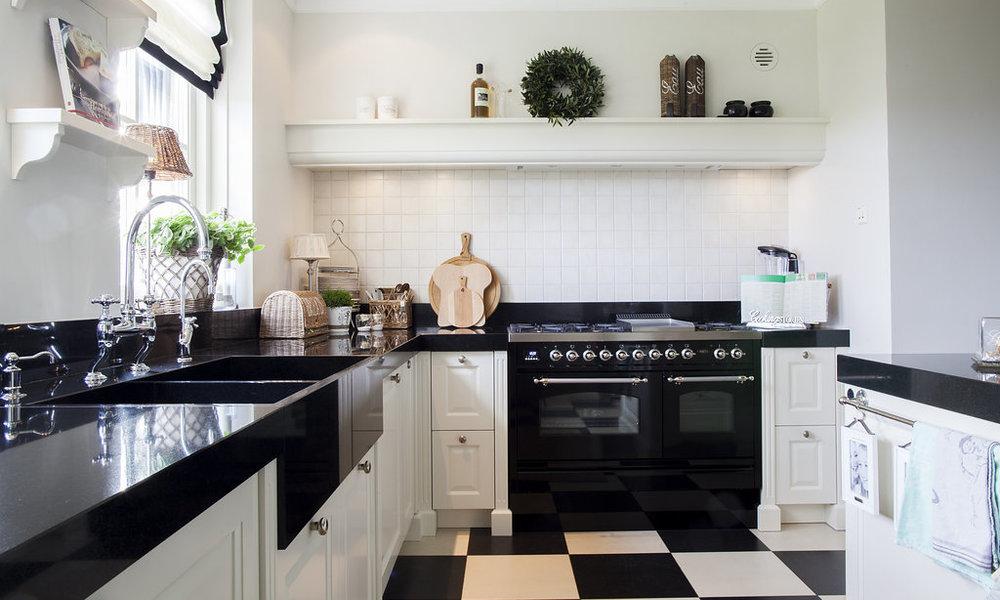 Wit Stoere Keuken : Keuken wood creations