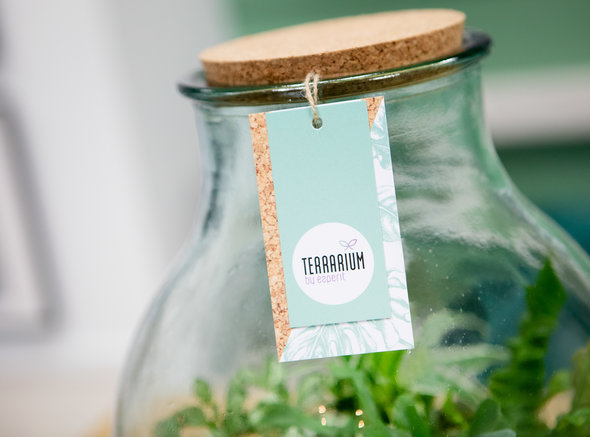 Hippe labels voor het Terrarium by Esperit Elements