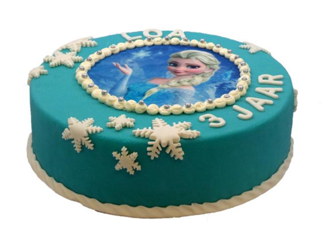 taart met foto laten maken