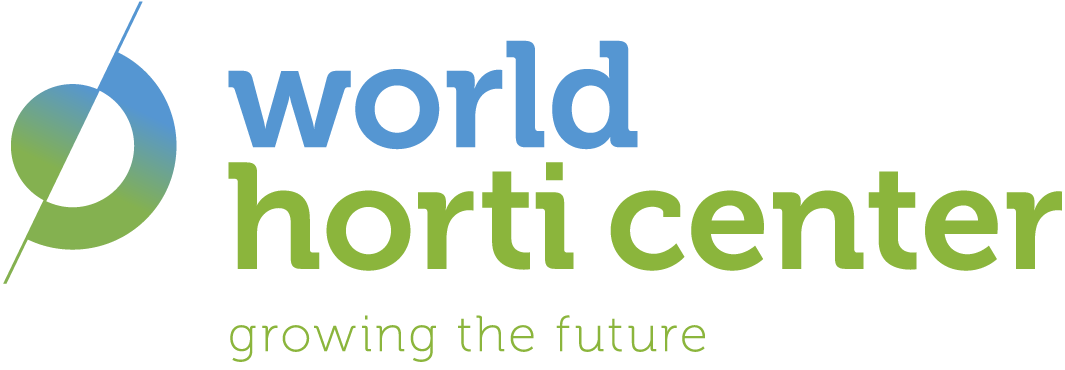 World Horti Center logo met tekst