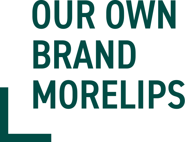 Our own brand Morelips